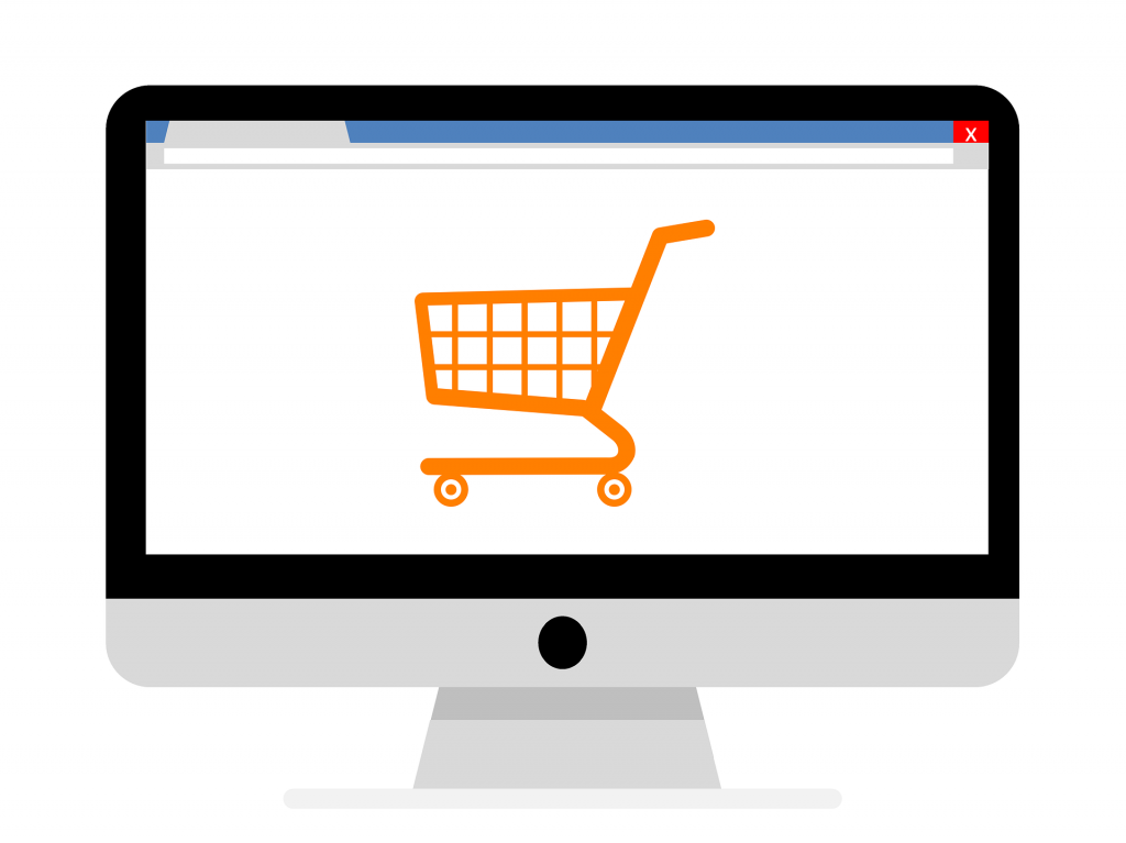 Online retail image by Virgate Accounts a complete plug-in Accounts Department for the retail, hotel, pub and restaurant sector.